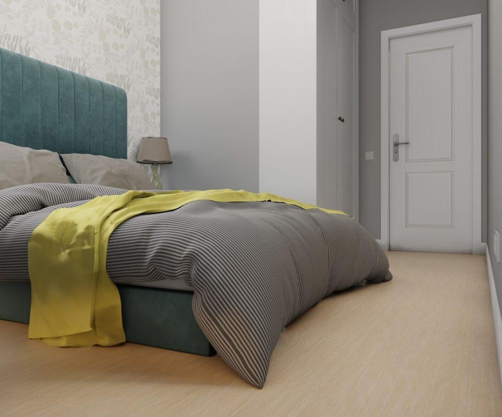 dormitor frumos decorat