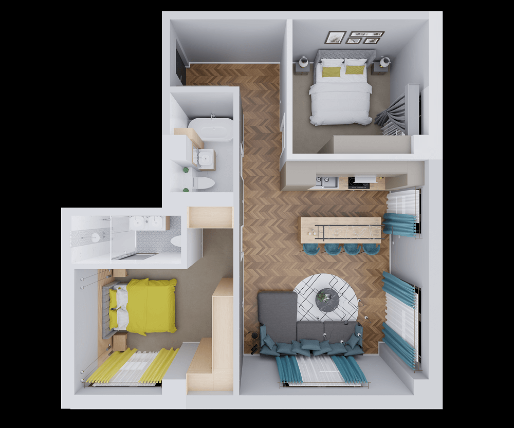 vindem apartamente 3 camere copou iasi spatioase