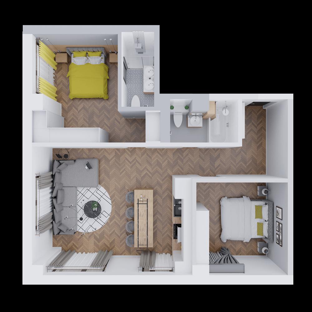 apartament 3 camere mari izolate copou vanzare