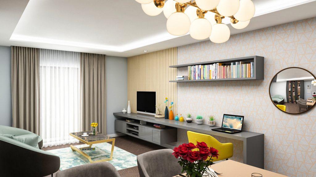 cum arata o sufragerie de lux in Copou Iasi